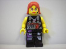 Lego Agents figura - Agent - Cam (ritkaság) (alp001)