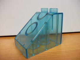 Lego Duplo átlátszó kocka