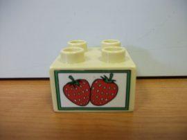Lego Duplo képeskocka - eper