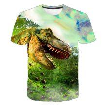 Gyerek 3D póló Dinoszaurusz 120 méret