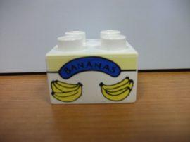 Lego Duplo képeskocka - banán