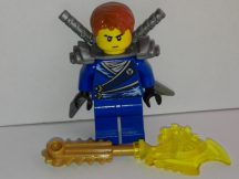 Lego Ninjago figura - Jay - Flat Silver Shoulder Armor (njo103) RITKA