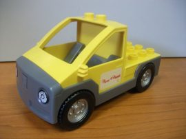 Lego Duplo - Pizza Planéta furgon