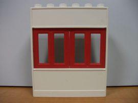 Lego Duplo ablakos fal elem