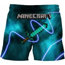 Gyerek 3D rövidnadrág Minecraft 130 méret