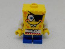 Lego Spongebob figura - Spongebob Kalóz (sisakja hiányzik) (bob032)