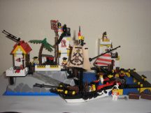 LEGO System - Imperial Trading Post 6277 EXTRA RITKASÁG kalóz