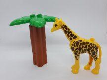 Lego Duplo zsiráf + pálma