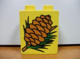 Lego Duplo képeskocka - toboz