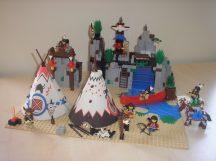 Lego System - Rapid River Village, Indián falu 6766