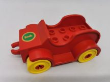 Lego Duplo Autó (piros) (Eleje kicsit kopott)