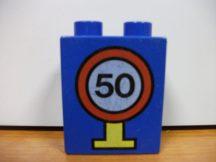 Lego Duplo képeskocka - 50-es tábla (karcos)
