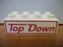 Lego Duplo képeskocka  - top down