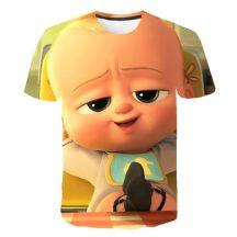 Gyerek 3D póló Bébi úr 110 méret
