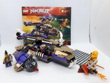 Lego Ninjago - Helikopteres Condrai támadás 70746 (Katalógussal, kicsi hiba)