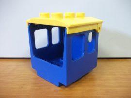 Lego Duplo Vonat elem, vonat fülke