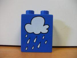 Lego Duplo képeskocka - felhő