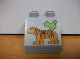Lego Duplo képeskocka - tigris