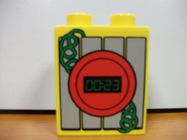 Lego Duplo képeskocka - bomba