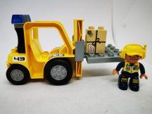 Lego Duplo Reptéri Targonca Figurával 7840-es szettből