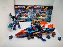 Lego Nexo Knights - Clay sólyomvadász ágyúja (70351) (katalógussal)