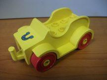 Lego Duplo Autó (sárga) (akasztós)