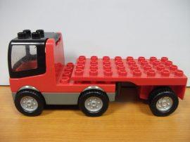 Lego Duplo Autó +utánfutó (piros)