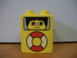 Lego Duplo képeskocka 2*2 - gyerek