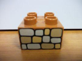 Lego Duplo képeskocka - terméskő