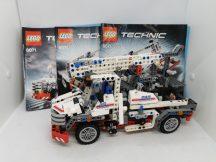 LEGO Technic - Önjáró kosaras emelő (8071) (katalógussal)