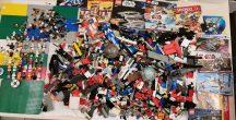 5,6 kg ÖMLESZTETT, VEGYES, KILÓS LEGO (star wars,ninjago) többmint 50 figurával és több mint 15 db alaplappal