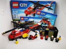 Lego  City - Sürgősségi tűzoltó egység 60108 (doboz+katalógus)