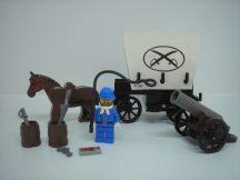 Lego System - Western -  Covered Wagon 6716 Ritkaság