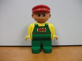 Lego Duplo ember - zoo fiú