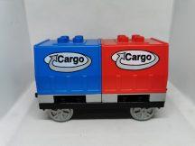 Lego Duplo Mozdony utánfutó, lego duplo vonat utánfutó Cargo