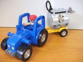 Lego Dupo 5649 készletből a traktor