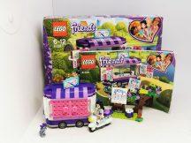 Lego Friends - Emma mozgó galériéja 41332 (doboz+katalógus)