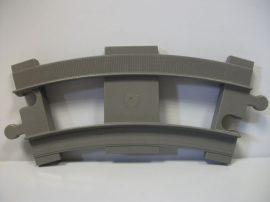 Lego Duplo sín kanyar (barnás szürke), lego duplo vonatpályához