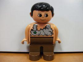 Lego Duplo ember - fiú ősember dino