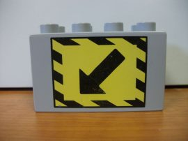 Lego Duplo képeskocka - nyíl (karcos)