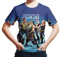 Gyerek 3D póló FORTNITE 130 méret
