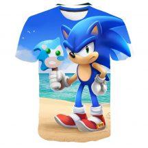 Gyerek 3D póló Sonic 120 méret