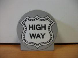Lego Duplo képeskocka - high way (autópálya) - Verdák