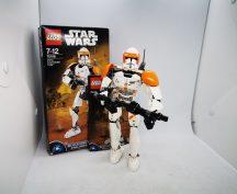 LEGO Star Wars - Cody klónparancsnok (75108) (doboz+katalógus)