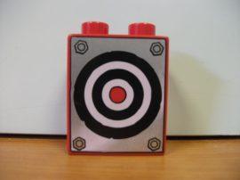 Lego Duplo képeskocka - céltábla Verdák