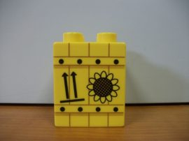 Lego Duplo képeskocka 2*2 - napraforgó