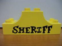 Lego Duplo képeskocka - sheriff