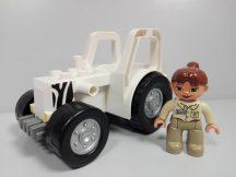Lego Duplo Zoo traktor + ajándék figura