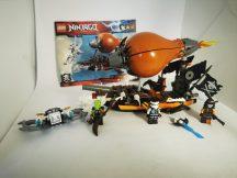 LEGO Ninjago - Léghajó támadás (70603) (1 katalógussal, kicsi eltérés)