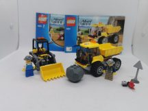 LEGO City - Rakodó és Dömper (4201) (katalógussal)